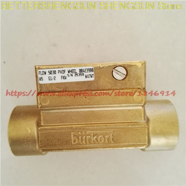 Sensor base  FLOW S030PVDF WHEEL M5 G1/2 FKM 00423980Sensor base  FLOW S030PVDF WHEEL M5 G1/2 FKM 00423980