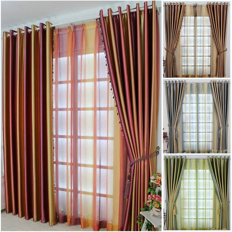 Nuevas cortinas para pertenecen a la sala de estar minimalista moderna de alta calidad, una cortina parasol