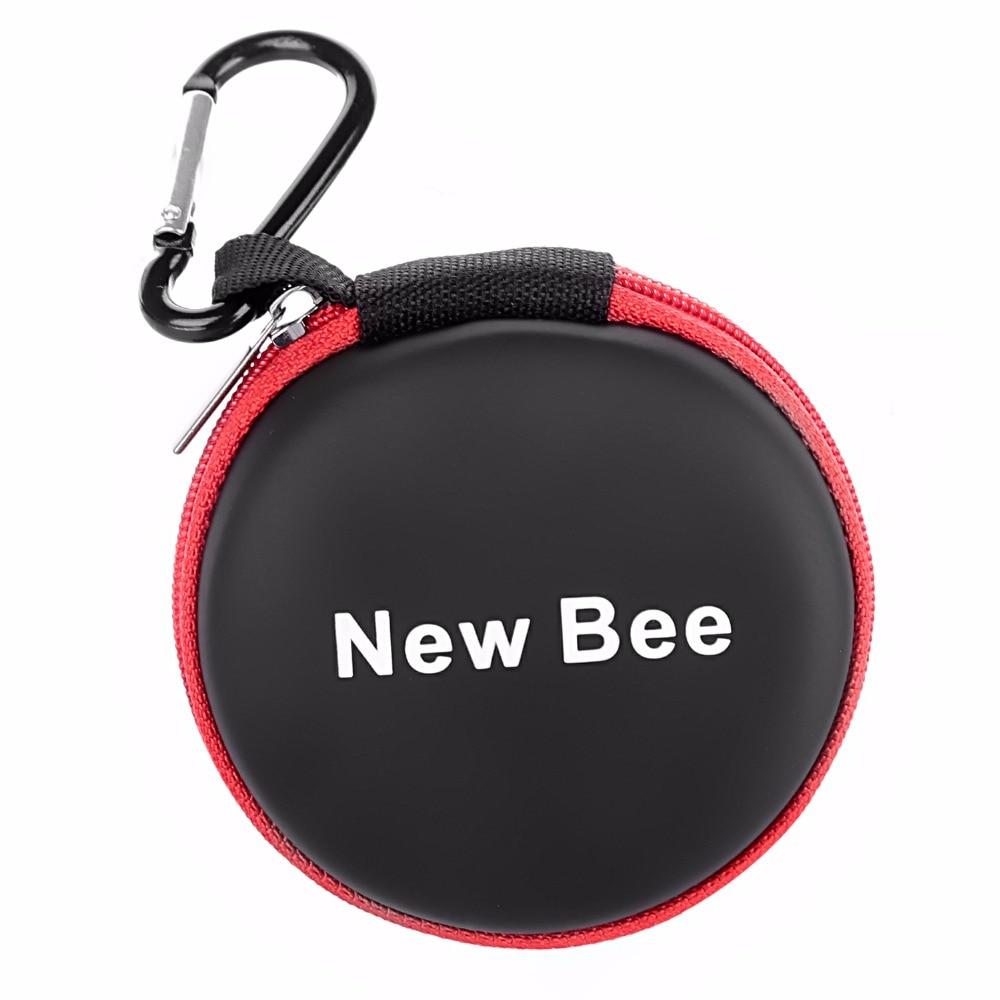New Bee Fashion Portable Earphones Case Bluetooth Earbuds Bag High Qua