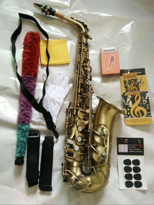 Alto Saxophone SELMER 54 profissional de alta qualidade Sax Bronze Instrumentos Musicais alto saxophone instrument 54 french selmer sax alto profissional bronze perfect sound quality free shipping