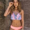 Бикини  женский купальник  летняя пляжная одежда  купальник с пуш-апом