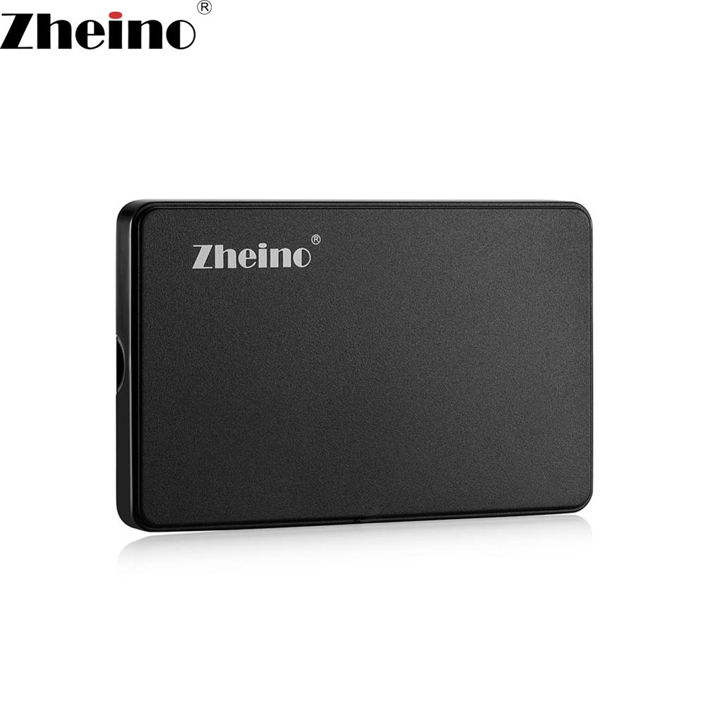 Zheino 2.5 Inch USB 2.0 Mobile HDD box 44PIN IDE PATA Hard Drive Disk HDD/SSD External Enclosure Case USB 2.0 Cable Tool-free 2017 new arrival 2 5 inch usb 3 0 sata hdd enclosure external case box mobile ssd hdd tool for 2 5inch hard disk