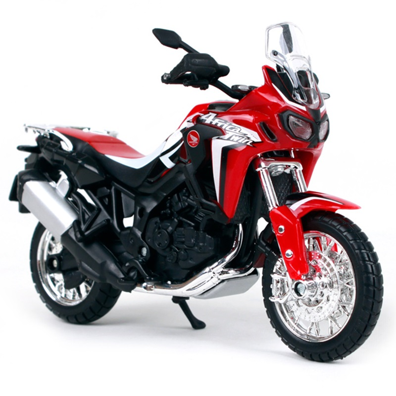 Maisto <font><b>1:18</b></font> <font><b>Diecast</b></font> Motorcycle Toys Alloy CRF1000L Africa Twin DCT Off-road Motorbike Collectible <font><b>Model</b></font> Toy <font><b>Car</b></font> Decoration Gift image