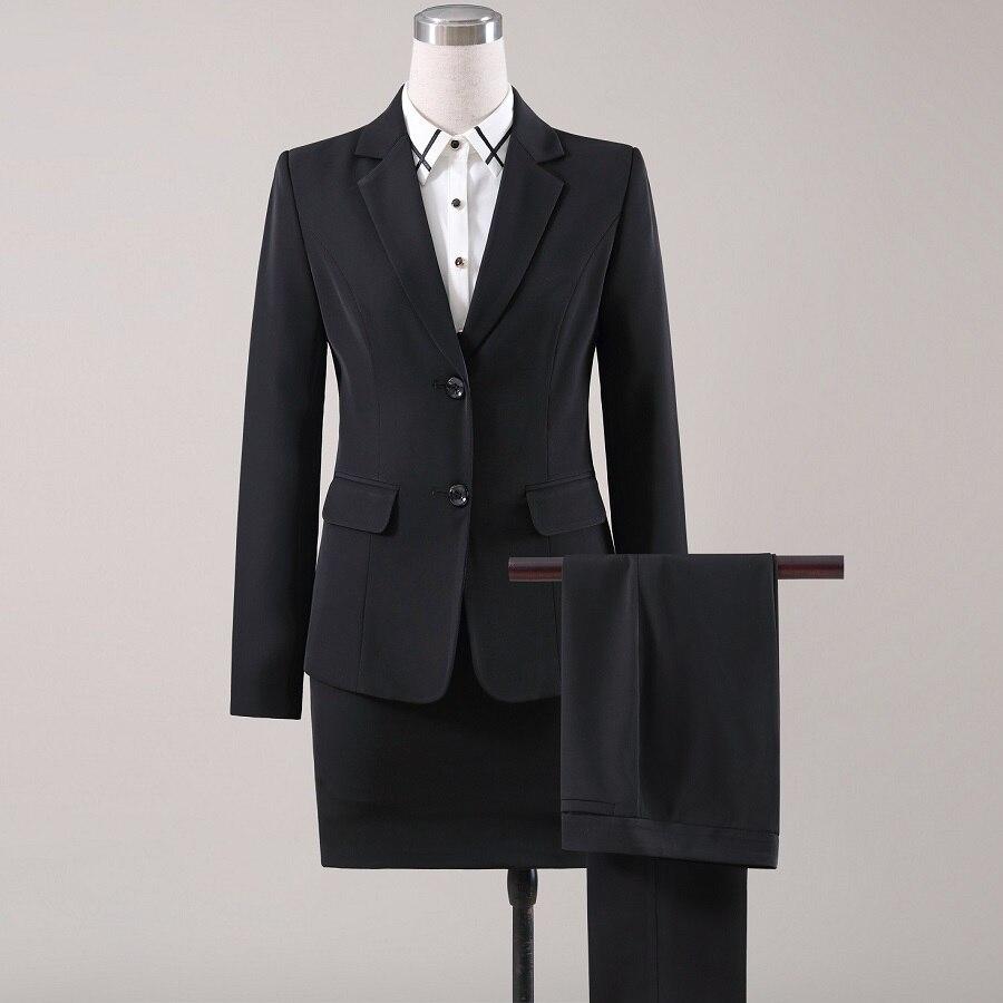 ACRMRAC Women Suits Autumn Slim Long Sleeve Jacket Suit Pants OL Formal Women Pants Suits Womens Business Suits
