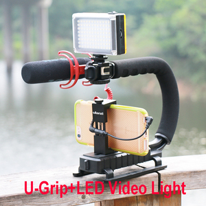 Image 5 - Ulanzi 112 מיני LED וידאו דו צבע צילום אור עבור מצלמה DV מצלמה אור עם מסנני Youtube Vlogging חתונה