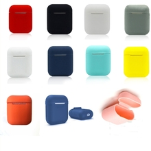 TPU Silicone Bluetooth Wireless Earphone Case For AirPods 1 Protective Cover Skin Accessory for Apple Airpods 1 Charging Box