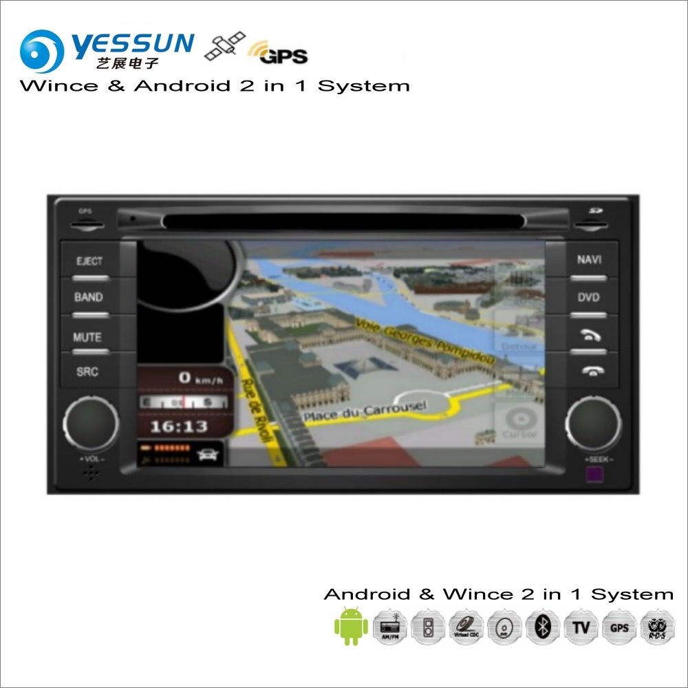 YESSUN For SAAB 9-2X 2004~2005 - Car Android Radio CD DVD Player GPS Navi Map Navigation Audio Video Stereo S160 System liislee for peugeot 206 plus 207 2006 2012 radio dvd player screen audio stereo gps navi map navigation android s160 system