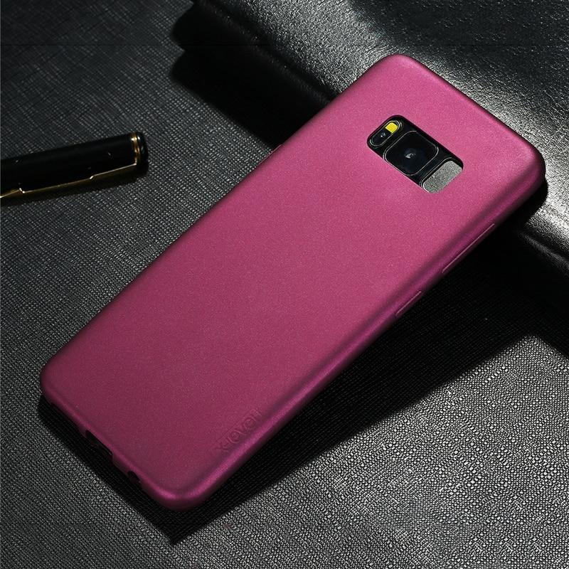 X-level Untuk Samsung S8 Plus Kasus Merek Mewah Slim Matte Lembut - Aksesori dan suku cadang ponsel - Foto 5