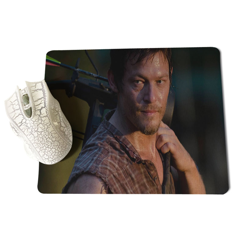 MaiYaCa The Walking Dead Дэрил большой Мышь pad PC компьютер коврик Размеры для 18x22x0,2 см игр мышь колодки