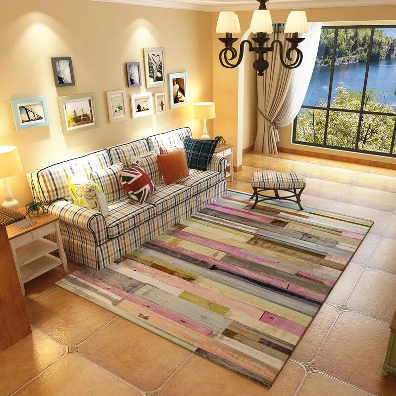 US $29.45 33% OFF Big Carpet Simplified Style NO Mite Skin friendly Carpets  For Living Room Bedroom Rugs Coffee Table Area Soft Children Play Rugs-in  ...