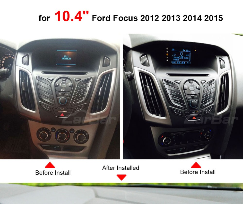 car gps for ford focus installed_01