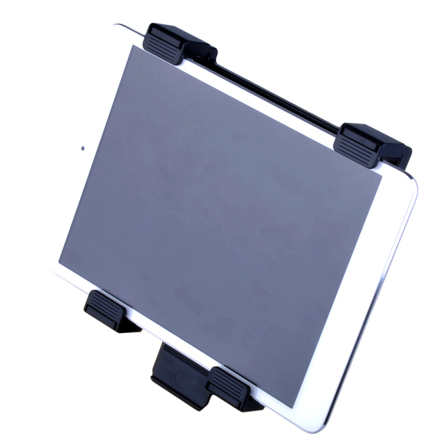 Mic ou música tablet pc stand holder universal para kindle fire tablet pc