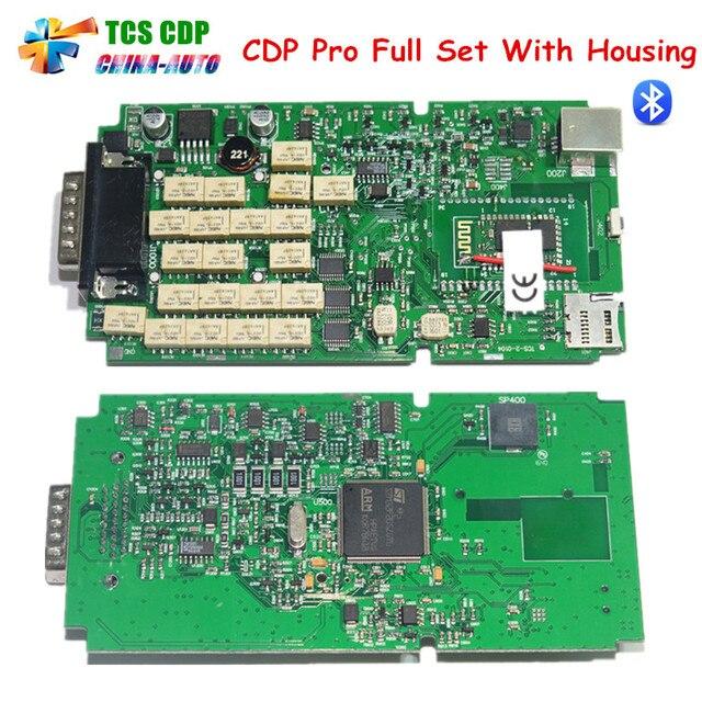 3pcs/lot New Arrival Single Board PCB TCS CDP PRO 2014.R2 Keygen+Bluetooth tcs cdp PRO + free shipping