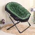 Einzigen Sofa Faul Chaiselongue Stuhl Lesen Fernsehen Wohnzimmer Schlafzimmer Faltbare Polster Weiche Freizeit Liege Stuhl-in Chaise Lounge aus Möbel bei