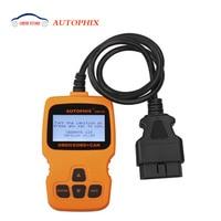 Auto Scanner Autophix OM123 OBD OBD2 EOBD KAN handbediende Motor Analyzer OM 123 Diagnostic Tool Russische Portugees Auto Scan Tool