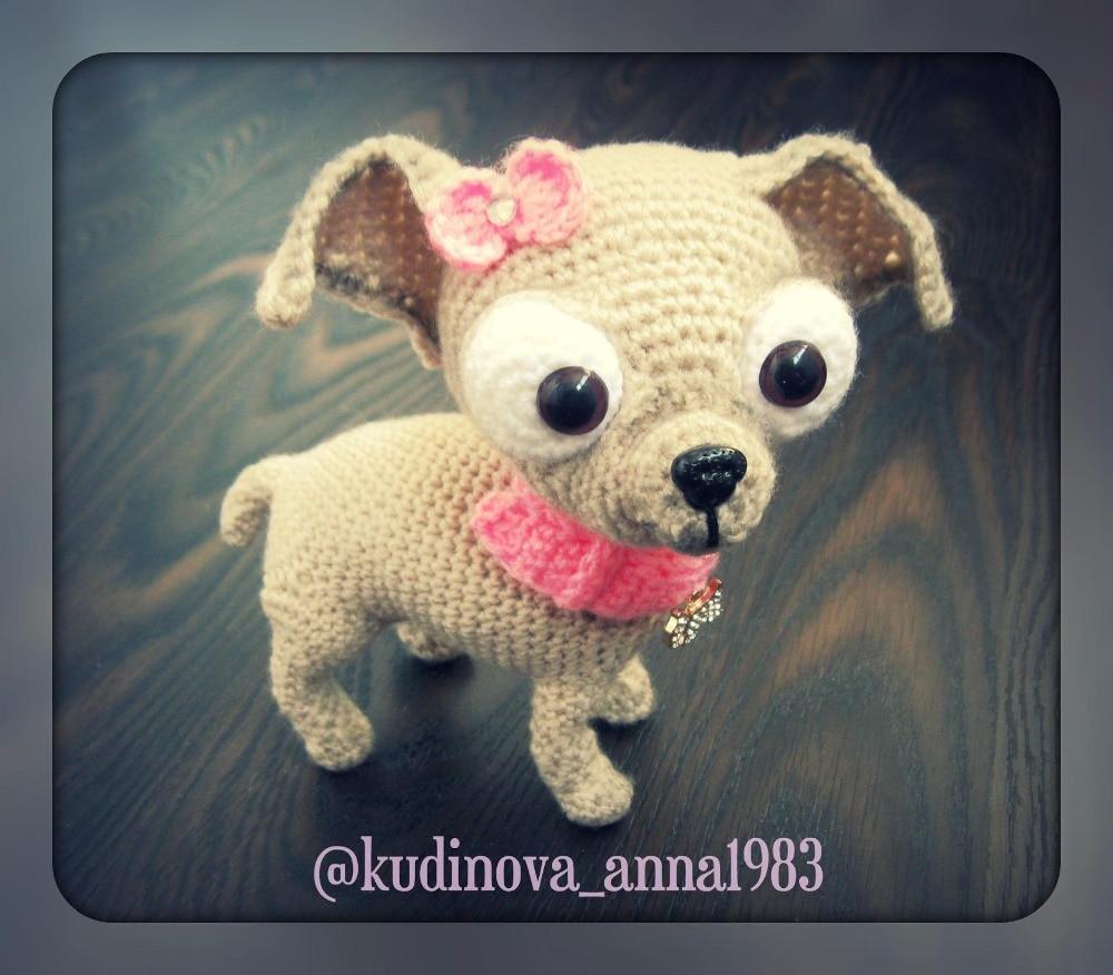 Amigurumi Mini Dog Free Pattern | 876x1000