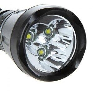 Image 5 - 6000 Lumens 3 * XML T6 8 chế độ 60 m LED Dive Đèn Scuba Diving Lặn Dưới Nước Đèn Pin Săn Bắn Đèn Flash ánh sáng, sử dụng 26650