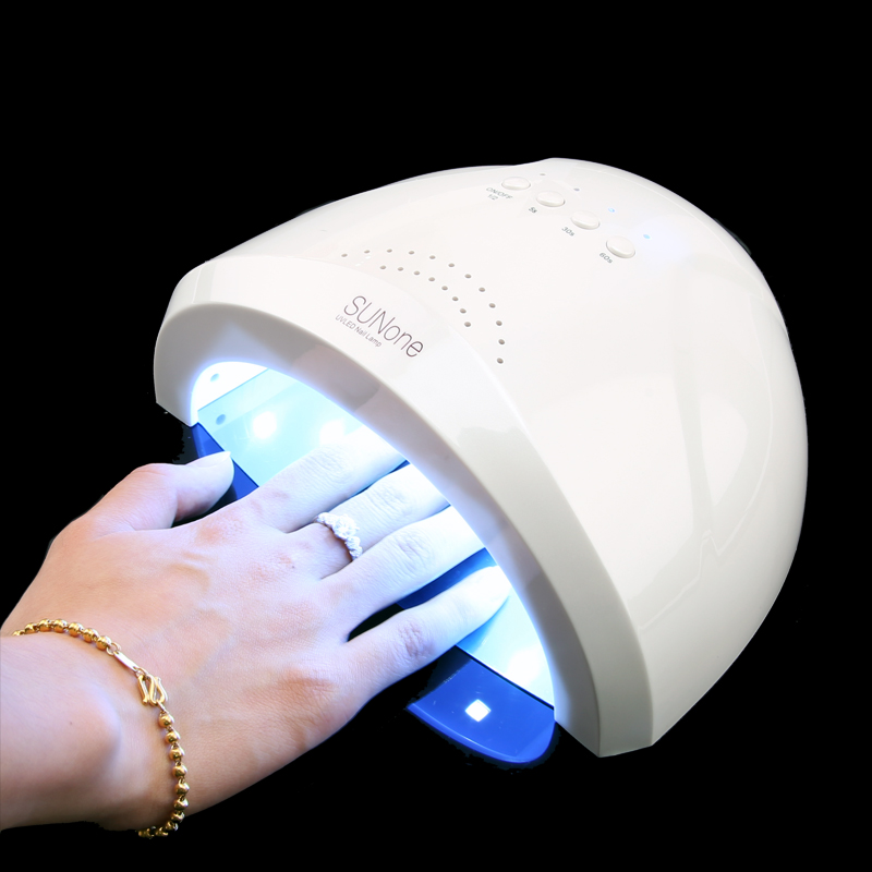 New SUNone UV Lamps 48W 24W Nail Dryer LED Nail Lamp Dryer Fingernail Toenail Curing LED UV Gel Nail Polish Manicure Salon Tools in Nail Dryers from Beauty Health