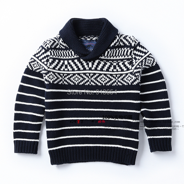new 2014 spring autumn children sweater baby clothing male baby pullover sweater child striped sweater kids jackets coats