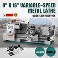 8x16 дюймов 750 Вт точный мини металлический токарный станок 2500 об/мин Микро Металлический фрезерный станок токарный станок