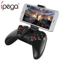 iPega PG 9068 PG-9068 Gamepad Mobile Joystick For Phone PC Android iPhone Trigger Pubg Controller Game Pad Control Hand Console new pg 9087 bluetooth gamepad wireless gamepad android pc joypad game controller joystick for pubg mobile gaming pg 9087