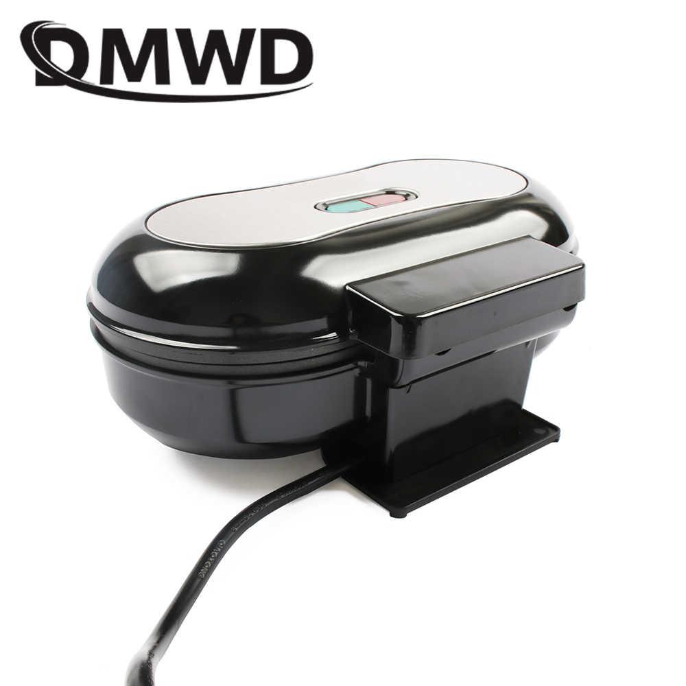DMWD Panini Machine à Sandwich électrique plancha Hamburger Machine de cuisson viande rôtissoire Omelette oeuf poêle grille-pain four à pain EU