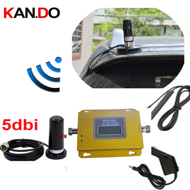 Big Magnet Base Anenna 69dbi 2G 1800mhz Dcs Mobile Phone Signal Booster 4G Network Signal Repeater 4g FDD Amplifier For Car