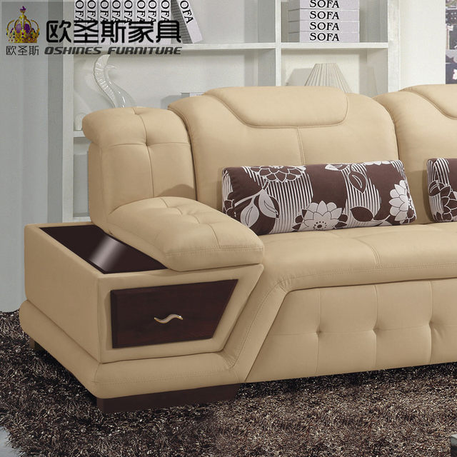 Neue Modell L Förmige Modernen Italien Echte Echtem Leder Schnitts Neueste  Ecke Möbel Wohnzimmer Geschlecht Sitzgruppe L20