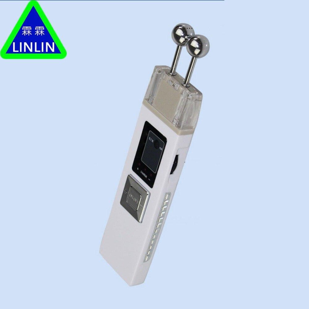 LINLIN Oplaadbare draagbare dubbele hoofd micro huidige huid lift schoonheid instrument kleine huishoudelijke schoonheid meter-in Massage & Ontspanning van Schoonheid op  Groep 1