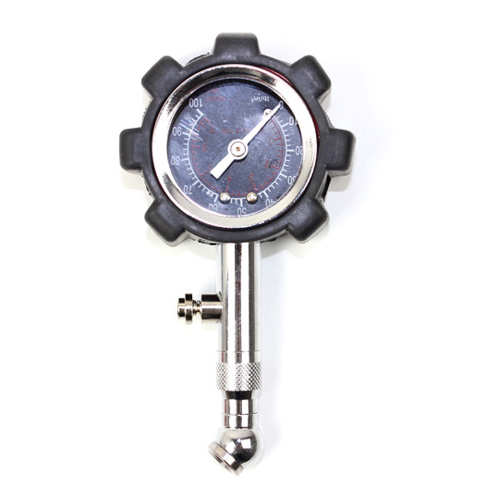 High Precision Pneumatic Tire Pressure Gauge Bicycle Motorcycle Car Tire Pressure Monitor Gauge Tyre Pressure Tester Tool Black professional 8mm tire pressure gauge w michelin pattern black silver yellow