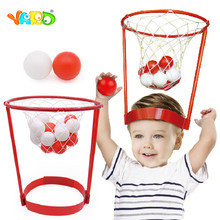 YARD games 2pcs Head Basketball Hoop Games toy Shooting Ball Outdoor Sport Toys Educational Game For Children Kids Toy