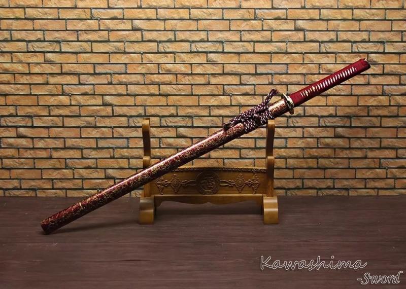 ნამდვილი სამურაის ხმალი - სახლის დეკორაცია - ფოტო 3