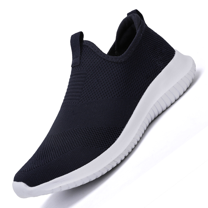 HTB1ELmjL4jaK1RjSZFAq6zdLFXaT 2019 Spring Men Shoes Slip On Men Casual Shoes Lightweight Comfortable Breathable Couple Walking Sneakers Feminino Zapatos