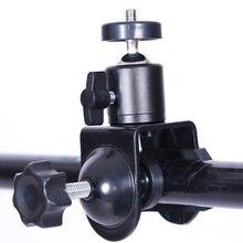 Cy 1 peça de acessórios para fotografia, acessórios profissionais multifunção com um parafuso de 1/4 pode ser girado clip c clipe para câmera de vídeo