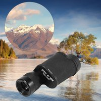 8X30 Metal Monocular Telescope High Times High Definition Outdoor Pocket Size Telescope Support LLL Night Vision