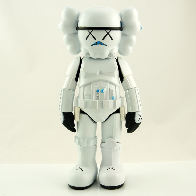 10 inch Storm Trooper by Kaws for Star Wars 30th Anniversary kaws companion original fake with retail box windshield universal swivel rotation car mount holder for cell phone gps psp iphone black