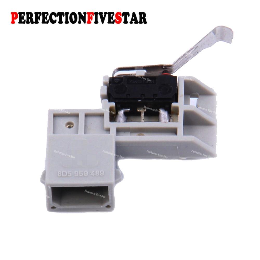 8D5959489 Rear Trunk Latch Lock Micro Switch 2-Pin For VW Bora Passat 2000 Golf Jetta For Audi A3 A4 A6 C5 Superb Leon Toledo