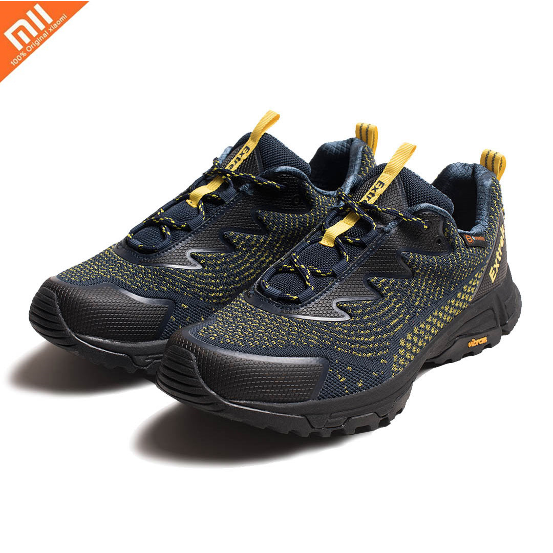 Original Xiaomi Mijia EXTREK Sports Shoes Flying Woven Waterproof Outdoor Hiking Men's Shoes Casual Fashion Climbing Shoes