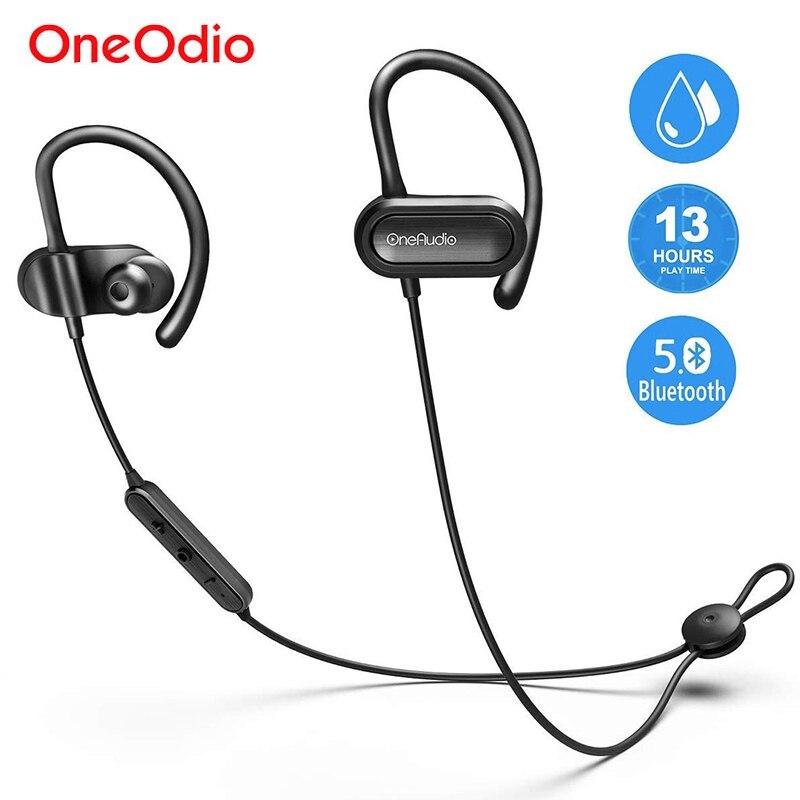 Oneodio Wireless Headphones Bluetooth 5.0 Sports Earphone Waterproof Stereo Bluetooth Head