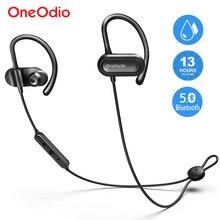 Oneodio беспроводные наушники Bluetooth 5,0 спортивные наушники 13 H Playtime стерео bluetooth-гарнитура с микрофоном для телефона
