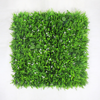 ULAND Outdoor Artificial Boxwood Hedge Privacy Fence Plants 1X1M Topiary Grass Mat Greenery Wall DIY Garden Wedding Decoration