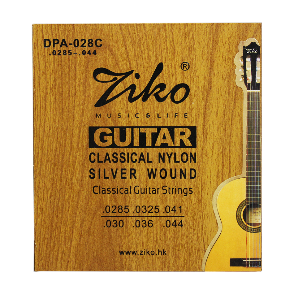 ziko dpa 028c professional colorful classical guitar strings 0285 044 colorful nylon colorful. Black Bedroom Furniture Sets. Home Design Ideas