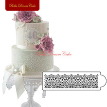 Victorian Lace Cake Stencil Cake Side Poroka Stencil Party Dekoracija Matrica Cake Dekoraterstvo Supplies Tool