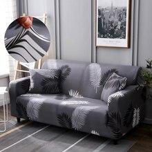 1/2/3/4 seater sofá moderno capa elastano poliéster elástico floral slipcover cadeira sala de estar sofá canto capas