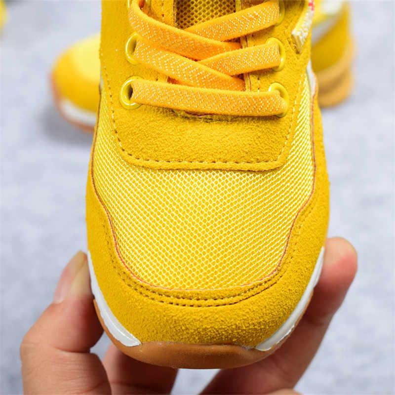 DIMI 2019 ฤดูใบไม้ผลิ/ฤดูใบไม้ร่วงเด็กรองเท้าเด็กชายกีฬารองเท้าแฟชั่น Casual เด็กรองเท้าผ้าใบกลางแจ้งรองเท้า Breathable Boy