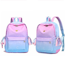 Orthopedic Backpacks School Children Schoolbags for Girls Primary School  Book Bag School Bags Printing Backpack Sac Ecolier Pink e1933ce3a539e
