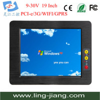 19 Inch Open Frame Touch PC New CPU And Mother Board 1 Year Warranty Resistive Touchscreen