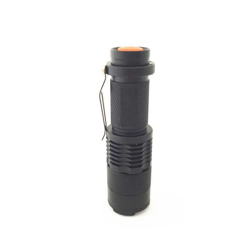 2016 New Hot Selling Flashlight Adjustable zoomable Focus LED Lamp Light Hand Torch zoom Flashlight Outdoors Hunting Lights