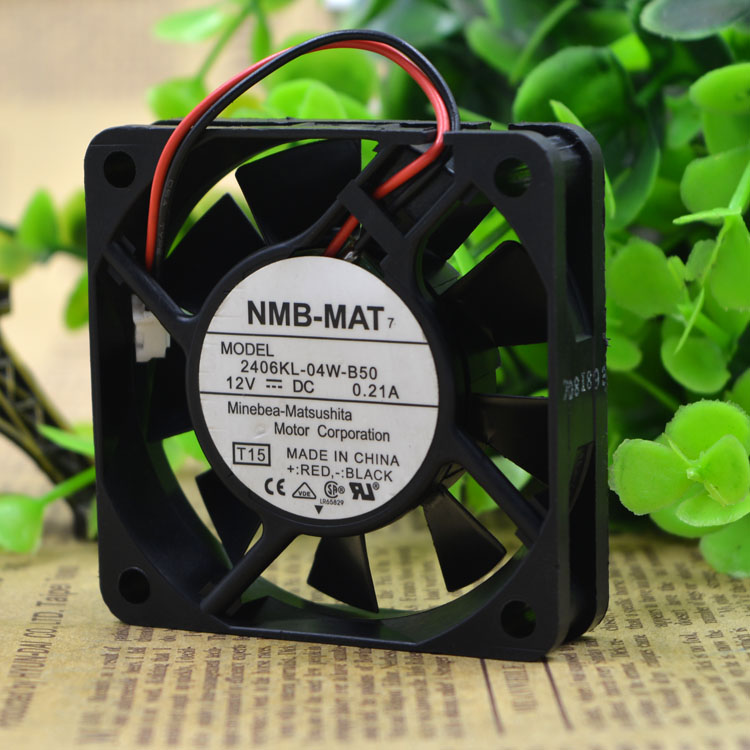 Free Delivery. 6015-2406 kl - 04 w B50 12 v 0.21 A 2 line cooling <font><b>fan</b></font> <font><b>60</b></font> * <font><b>60</b></font> * 15 <font><b>mm</b></font> image