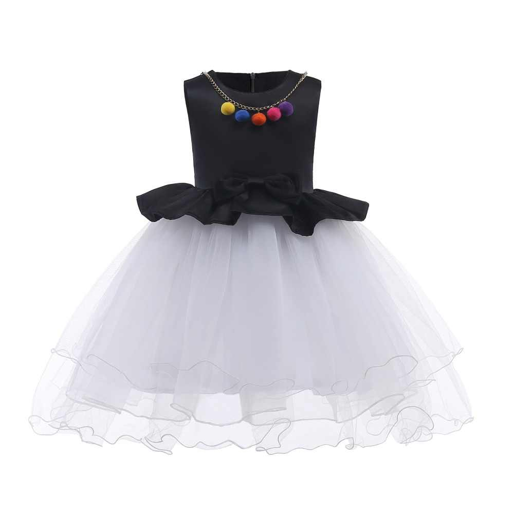 1737b0c2fce50 Daily Fancy Casual Baby Girl Clothes Elegant Girl Princess Christmas  Dresses Kids Pretty Party Prom Gowns Frocks Formal Dress